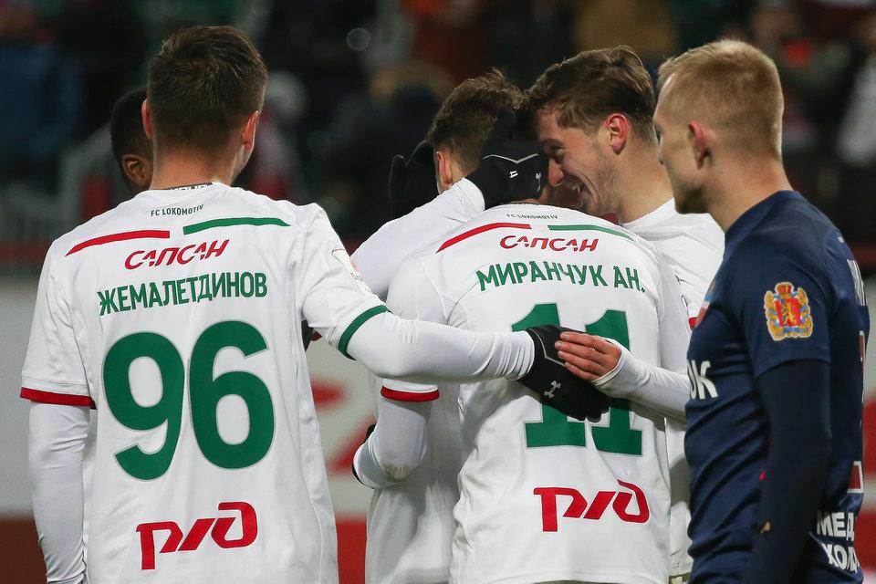 Дмитрий Булыкин: «Локомотив» становится лучше с каждым днем»