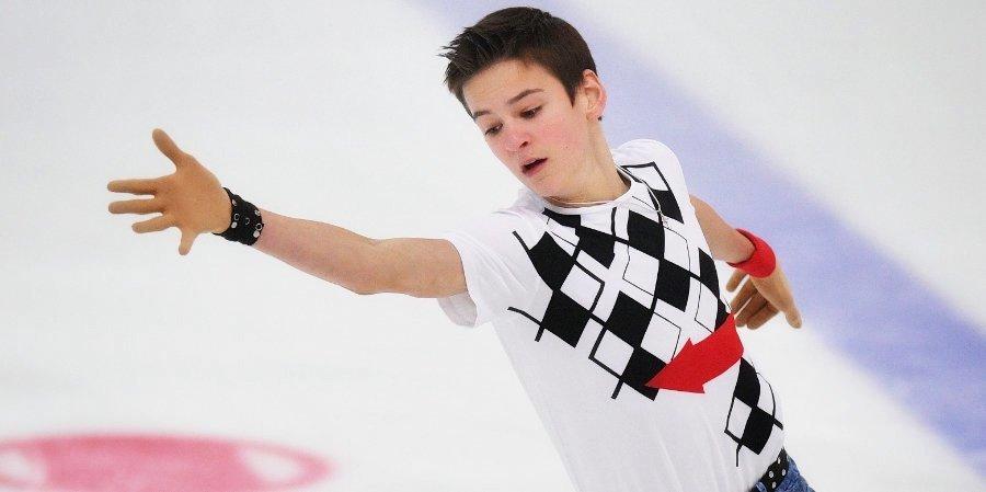 Артем Ковалев готовит второй четверной прыжок к чемпионату России