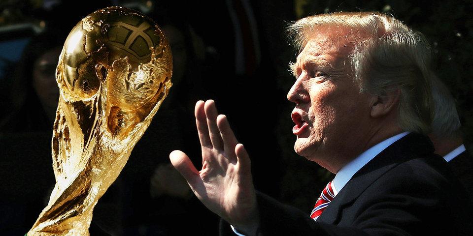 Три ошибки Трампа в трех предложениях. Президент написал про футбол?