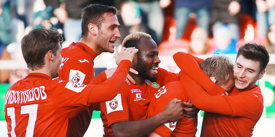 Болельщики «Уфы» признали Карпа лучшим игроком команды в октябре