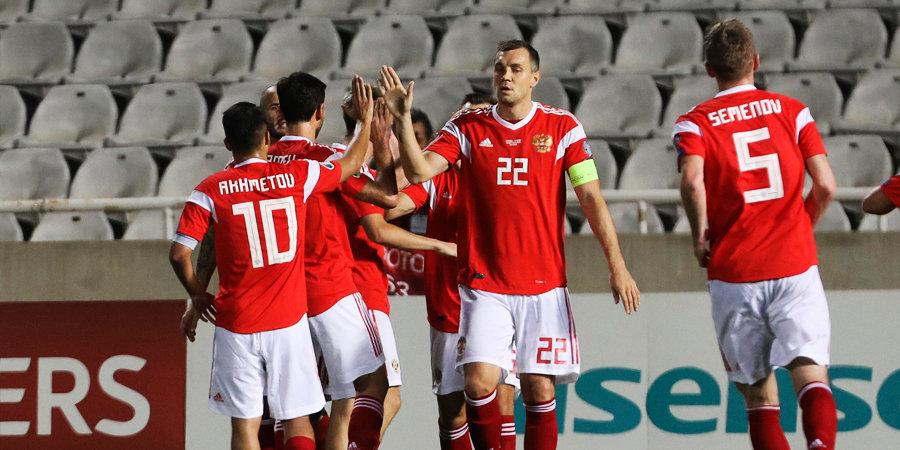Россия уничтожила Кипр (23 - 3 по ударам) и поставила новый рекорд! Матч, который вывел команду Черчесова на Евро-2020. Видео