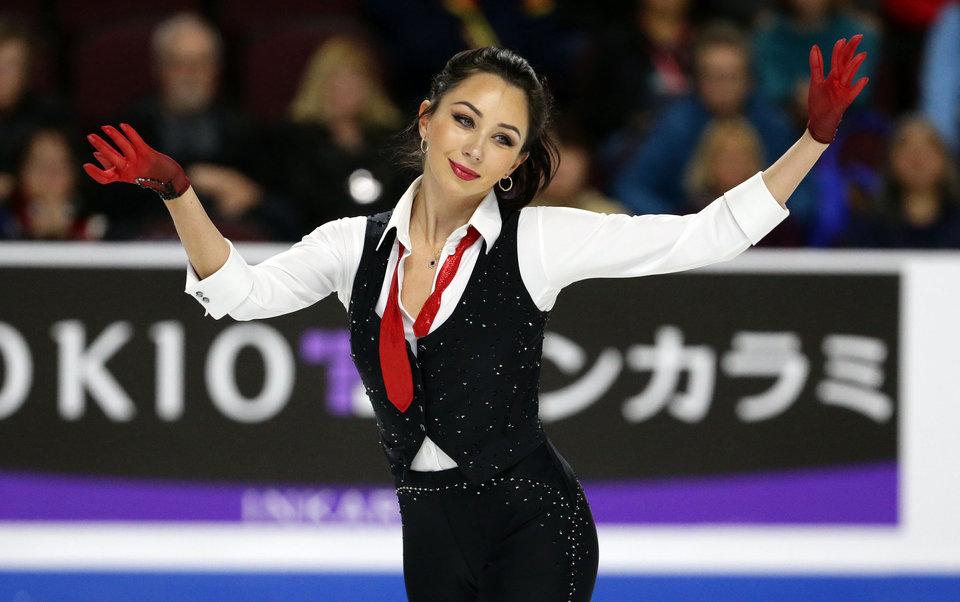Алена Леонова: «Туктамышева еще может выиграть Гран-при Китая»