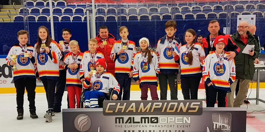 Тульская команда «Тропик» победила на турнире по следж-хоккею в Швеции