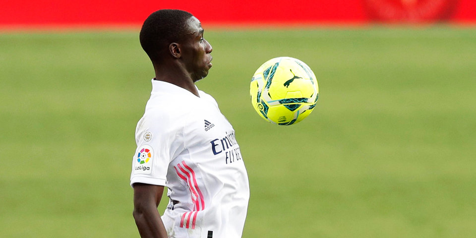Защитник «Реала» Менди пропустит три недели
