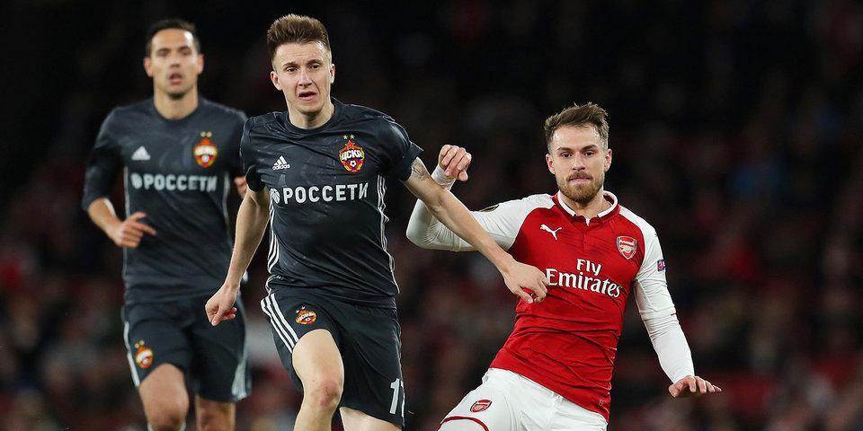 Лондонский «Арсенал» при поддержке тульского обыграл ЦСКА