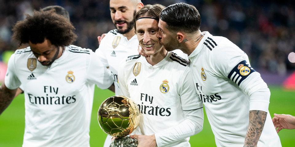 В 2018-м это случилось впервые. Лука Модрич получил «Золотой мяч»