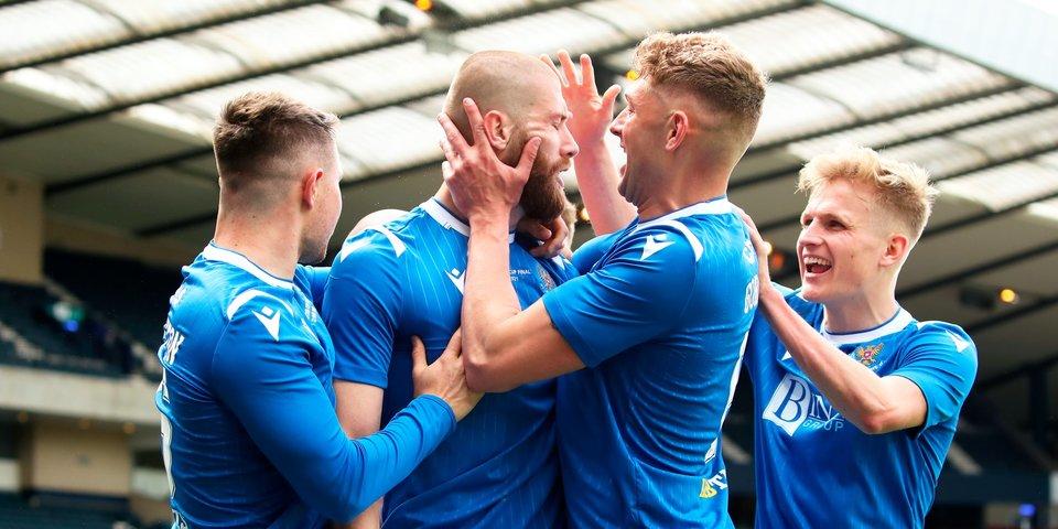 «Сент-Джонстон» во второй раз в истории выиграл Кубок Шотландии