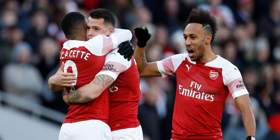 Лаказетт спустя 21 секунду после выхода на замену забил победный гол для «Арсенала», «Лидс» разгромил «Вест Бромвич»