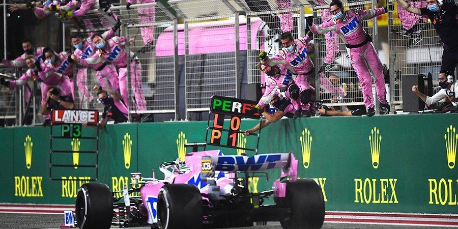 Перес одержал первую победу в карьере, Квят опередил оба «Мерседеса». Лучшие моменты Гран-при Сахира