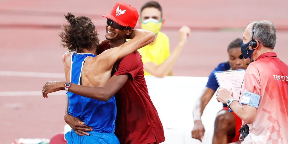 Баршим и Тамбери впервые в истории ОИ выиграли два золота в прыжках в высоту, россияне Акименко и Иванюк остались без медалей