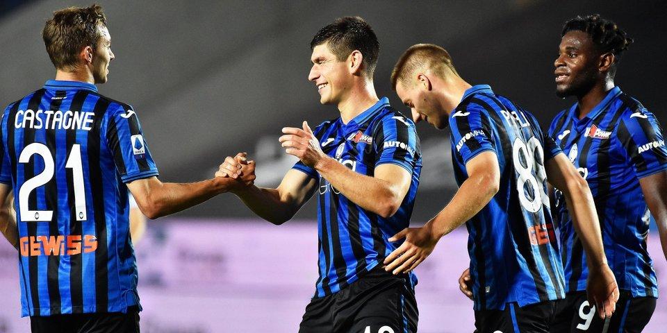 «Аталанта» без Миранчука разгромила «Кальяри» и возглавила турнирную таблицу Серии А