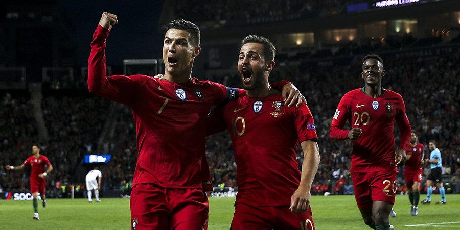 Роналду и Ко против сборной Голландии в финале Лиги наций и седьмая гонка сезона «Формулы-1».  Все трансляции 9 июня