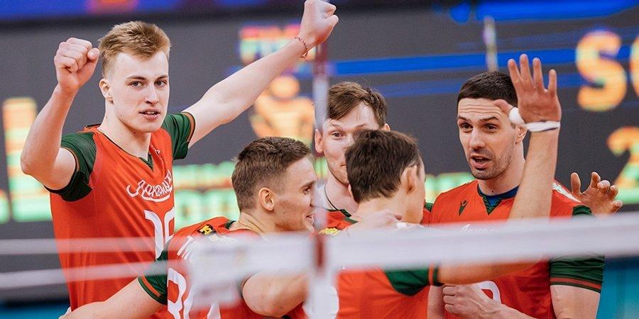 Новосибирский «Локомотив» стал бронзовым призером Суперлиги
