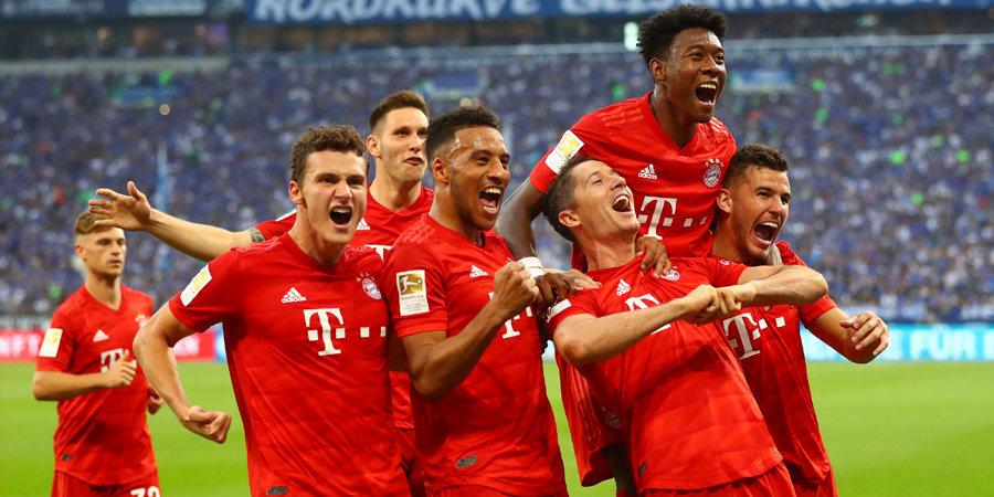 «Бавария» разгромила «Шальке», Левандовский оформил хет-трик. Видео голов и лучших моментов
