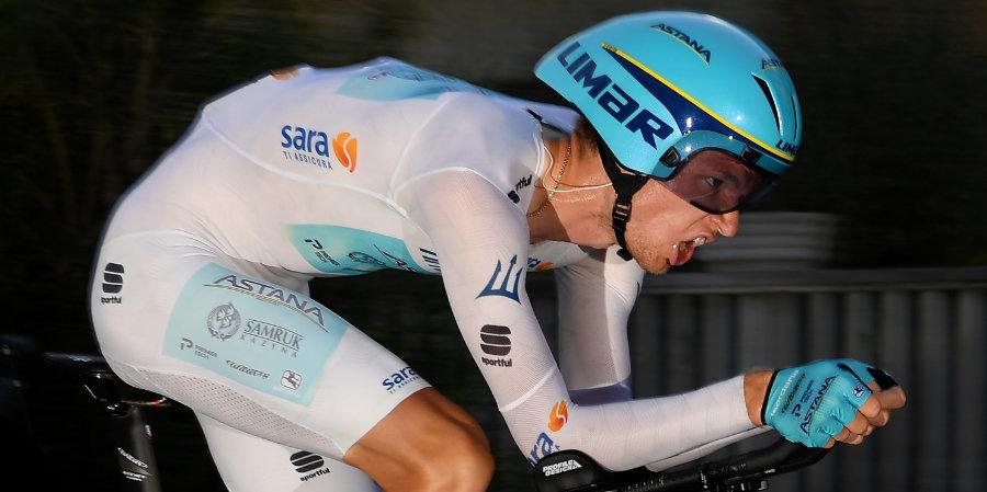 Власов стал вторым на 12-м этапе «Вуэльты»