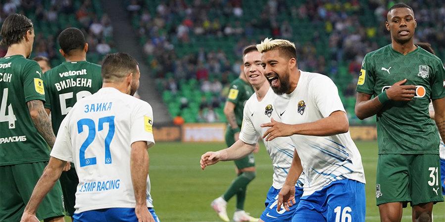 Дубль Нобоа и гол Заболотного помогли «Сочи» победить «Краснодар»