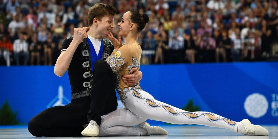 Денег мало, травм много, в сборной почти одни мужчины. Интервью из Минска с нашей бронзовой парой в спортивной аэробике