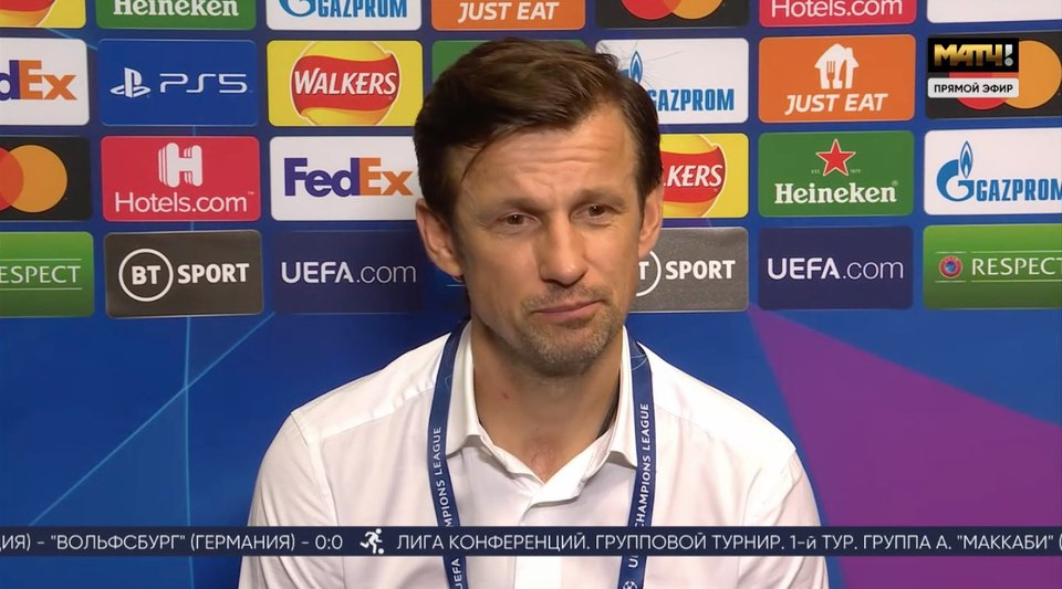 Сергей Семак в эфире «Матч ТВ»: «Будь у нас больше удачи, могли бы увезти из Лондона ничью»