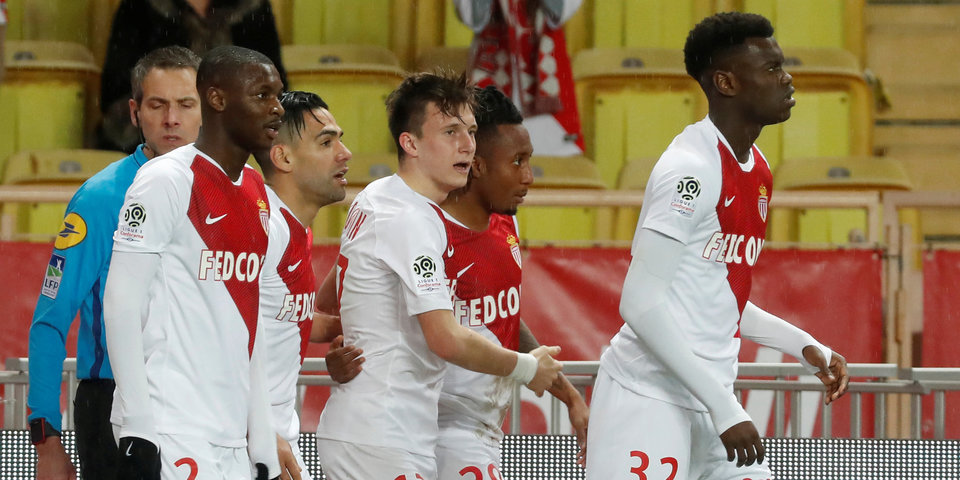 «Монако» обыграл «Нант», Головин провел на поле 83 минуты