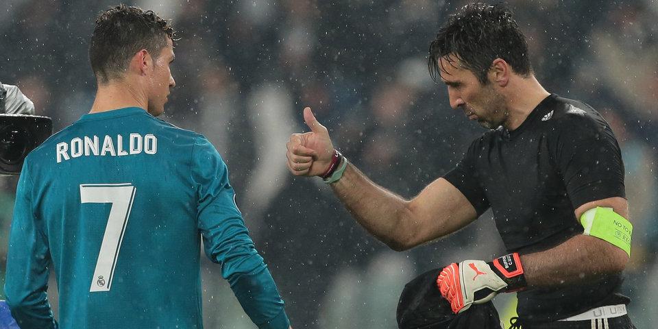 Буффон признался, что до сих пор не завершил карьеру благодаря Роналду