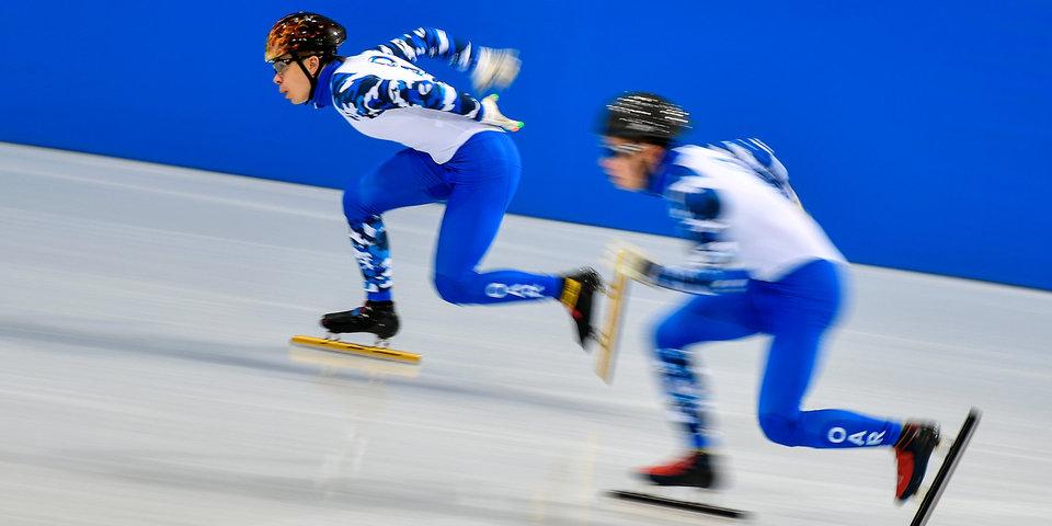 Канадец Амлен завоевал золотоЧМ пошорт-треку надистанции тысяча  м