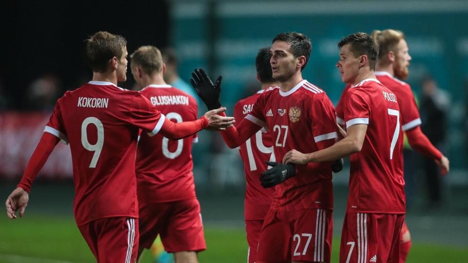 Россия осталась на 56-м месте в рейтинге ФИФА