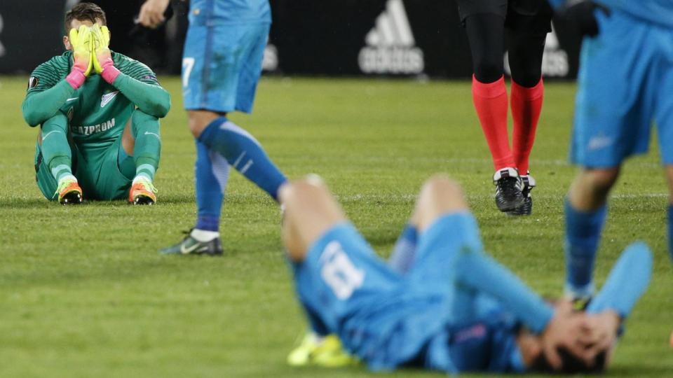«Андерлехт» выбил «Зенит» из Лиги Европы