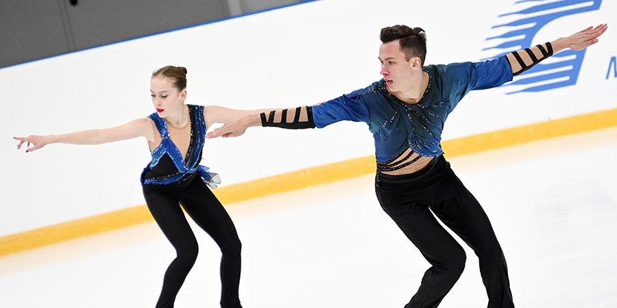 Артемьева и Назарычев победили на юниорском первенстве России