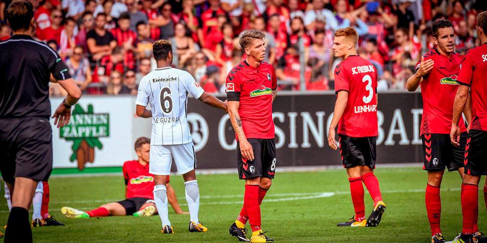 «Фрайбург» и «Айнтрахт» голов не забили