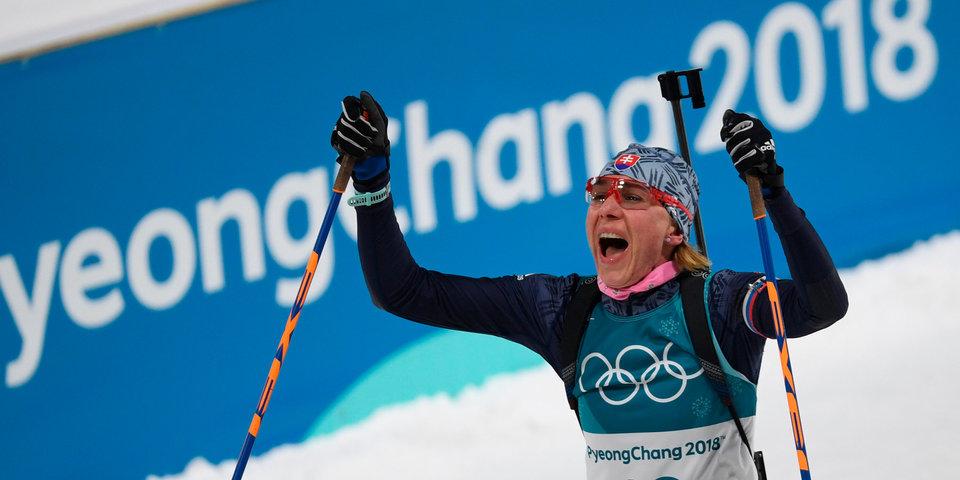 Кузьмина выиграла золото на третьей Олимпиаде подряд