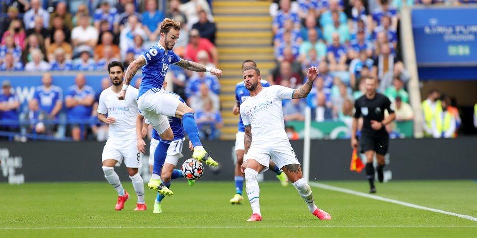 «Манчестер Сити» на выезде обыграл «Лестер», «Арсенал» одержал победу над «Норвичем»