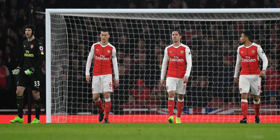 13 самых позорных минут для «Арсенала» в этом сезоне