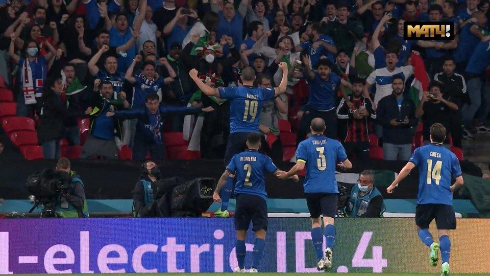 Бонуччи сравнял счет в финале чемпионата Европы