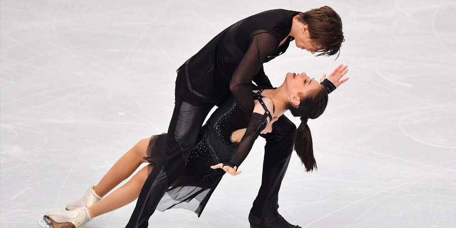 Шанаева и Нарижный взяли бронзу в танцах на льду в финале юниорского Гран-при
