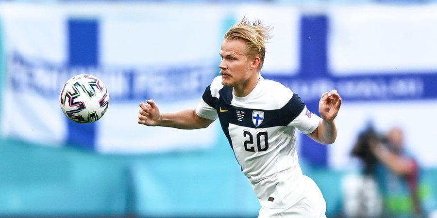 Финляндия победила Казахстан в отборе ЧМ-2022