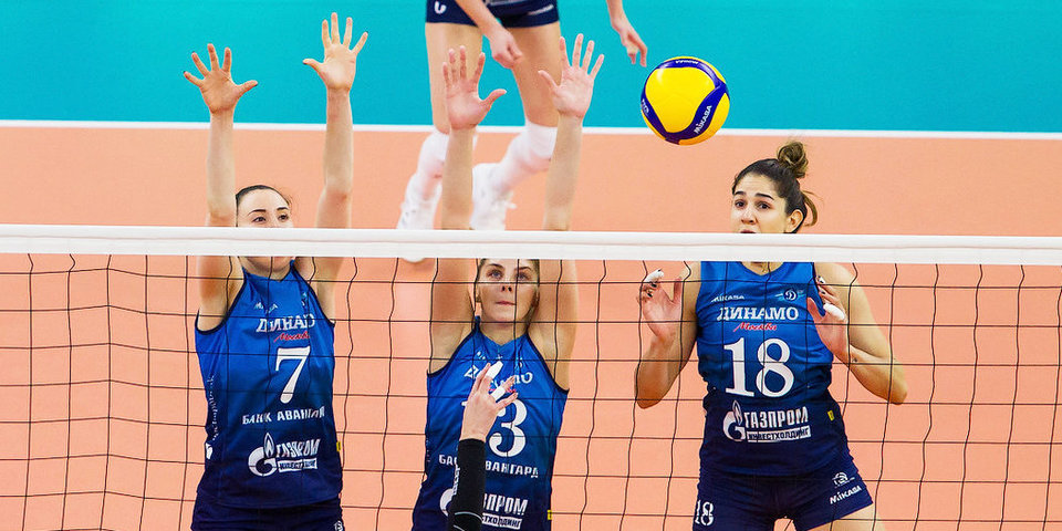 Московское «Динамо» разгромило «Липецк», «Минчанка» прервала серию из пяти поражений в матче с «Заречье-Одинцово»
