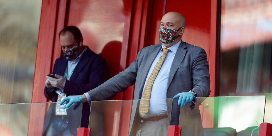 Александр Плутник: «От лица РЖД поблагодарили Кикнадзе за работу. Клуб находится в хорошем состоянии»