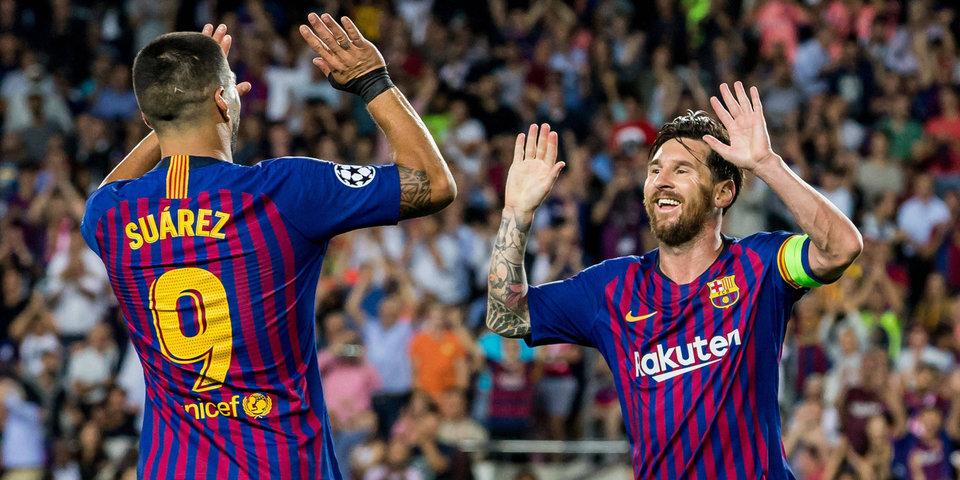 Месси стал лучшим игроком первой недели в Лиге чемпионов