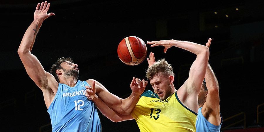 Австралия обыграла Аргентину и сыграет с США в полуфинале Олимпиады