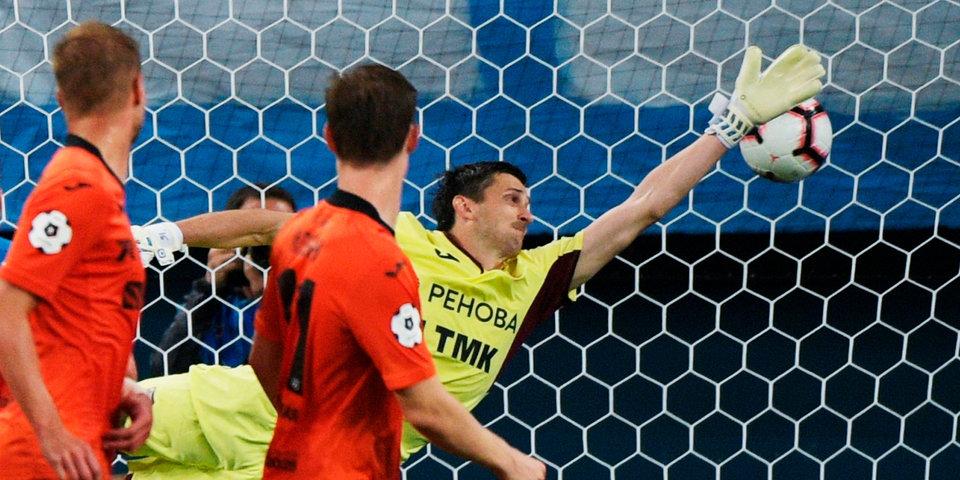 «Урал» и «Уфа» сыграли вничью в стартовом матче 12-го тура РПЛ. Видео голов