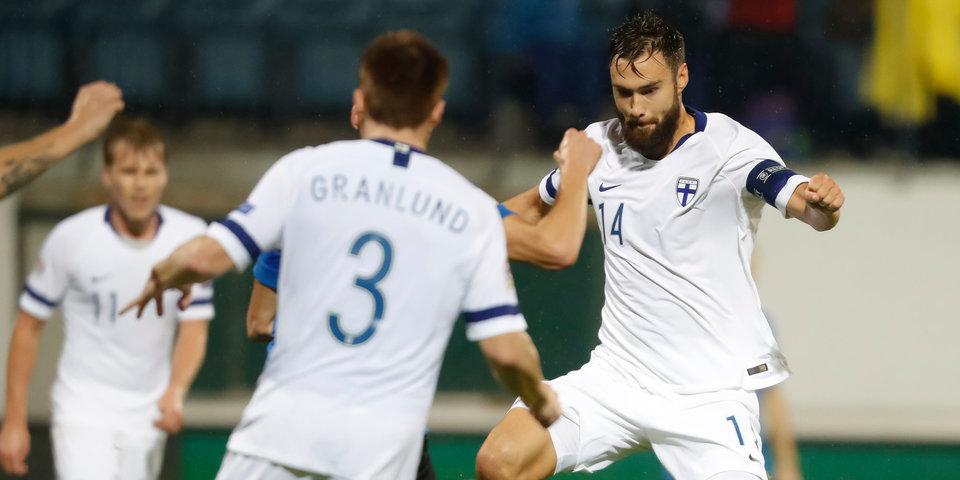 Финляндия обыграла Грецию в Лиге наций, Эстония и Венгрия на двоих забили 6 мячей