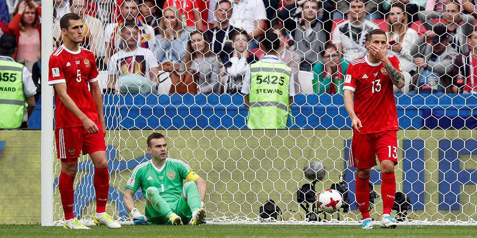 Сборная России чаще остальных нарушала правила и попадала в офсайды на Кубке конфедераций