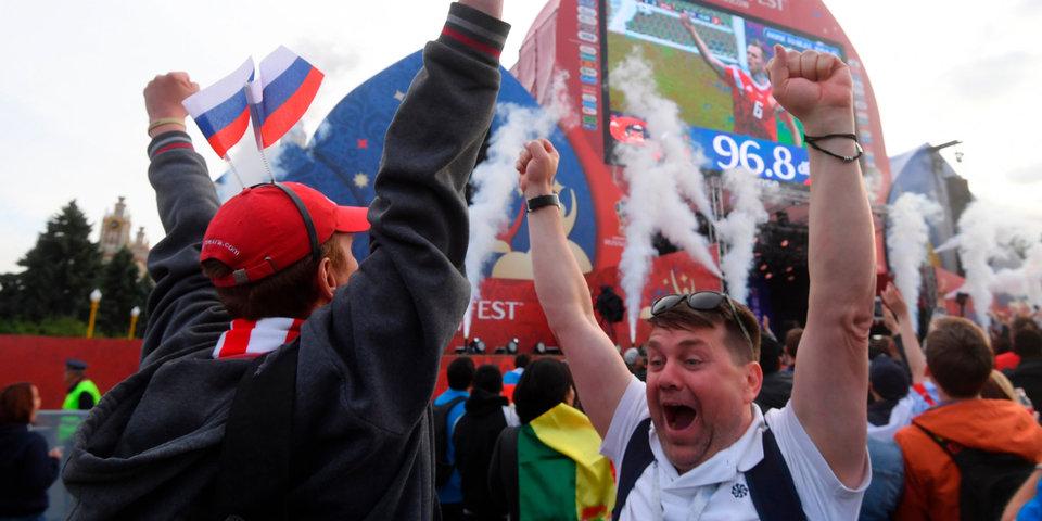 Москва влюбилась в сборную России прямо во время матча. Как это было