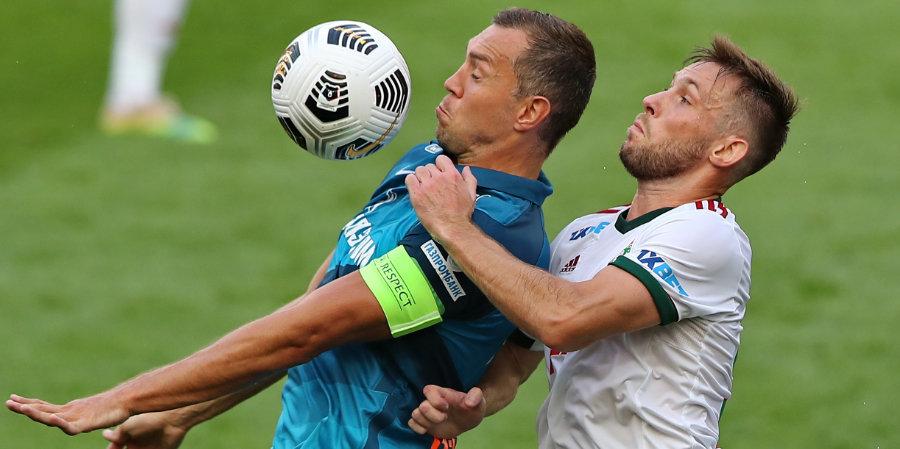 «Локомотив» и «Зенит» поддержали друг друга перед стартом Лиги чемпионов