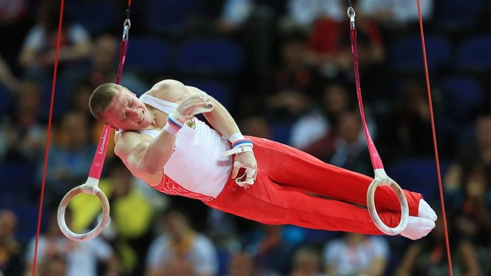 Аблязин — чемпион Европы в упражнениях на кольцах