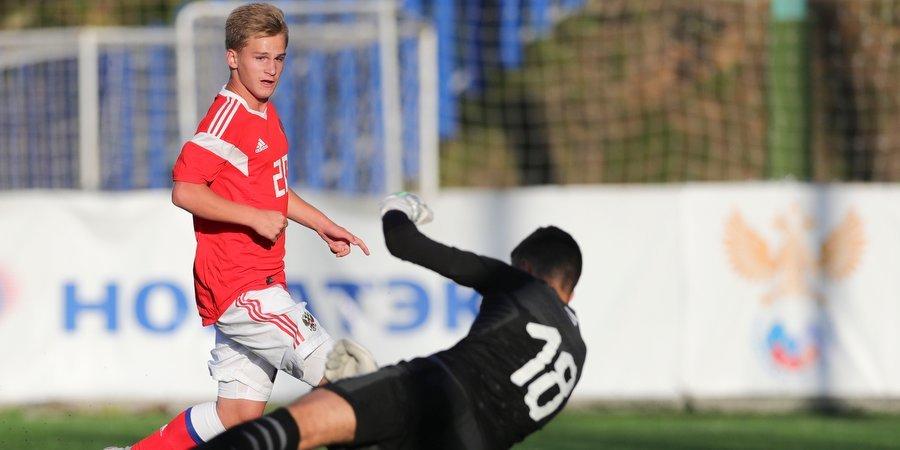 Юношеская сборная России выиграла товарищеский турнир в Хорватии
