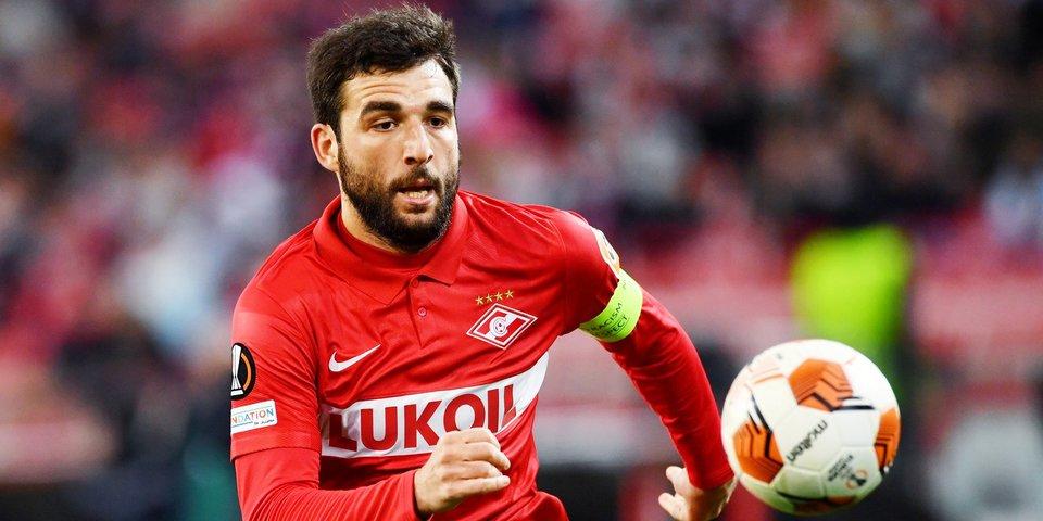 Георгий Джикия: «Спартак» готов к игре с «Наполи». Есть небольшое игровое волнение, это грозный соперник»