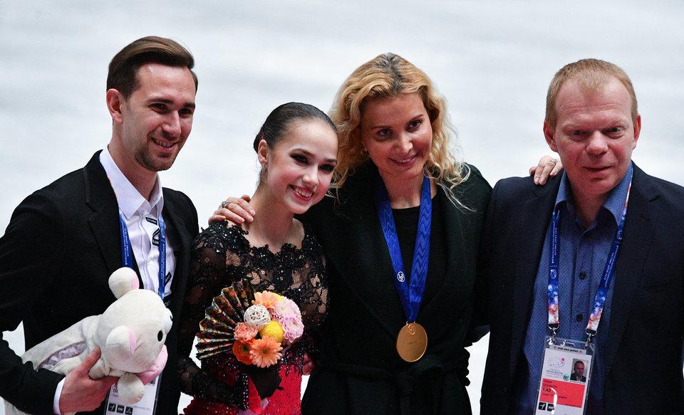 Алина Загитова: «Не представляю свой спортивный путь без Тутберидзе»
