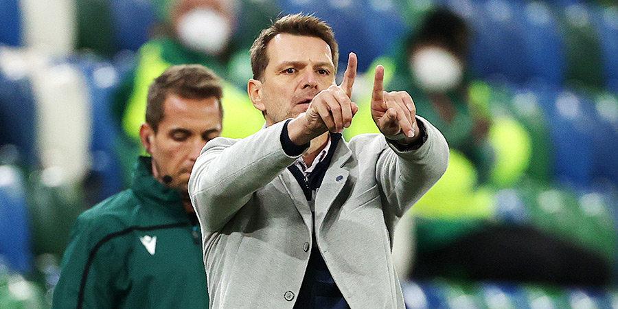 Тренер сборной Словакии оценил игру команды России