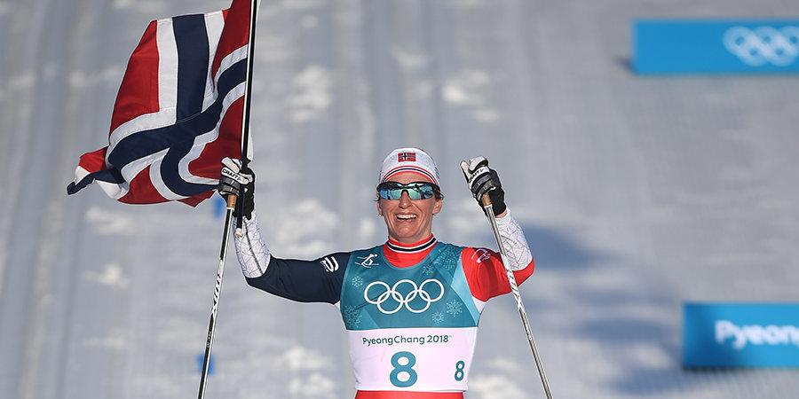 Восьмикратная олимпийская чемпионка Бьорген рассказала о положительной допинг-пробе в 2017 году, Губерниев отреагировал